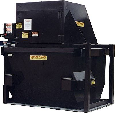 Vertical Compactor Black