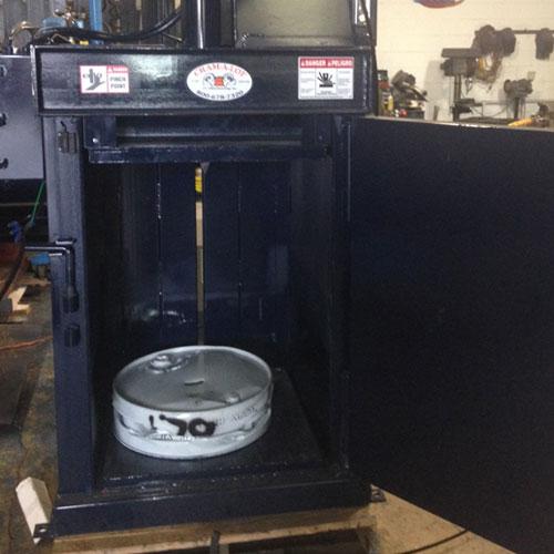 Drum Crusher 02 - Recycling Equipment