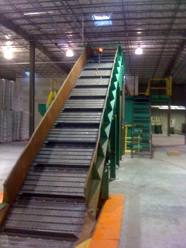 Rebuilt Recycling Sorting System 03
