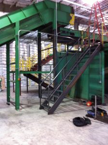 Rebuilt Recycling Sorting System 02