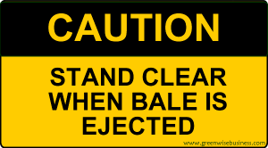 Caution - Stand Clear