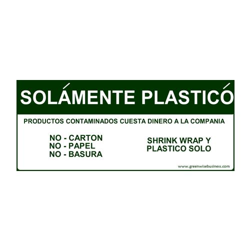 Solamente Plastico Small