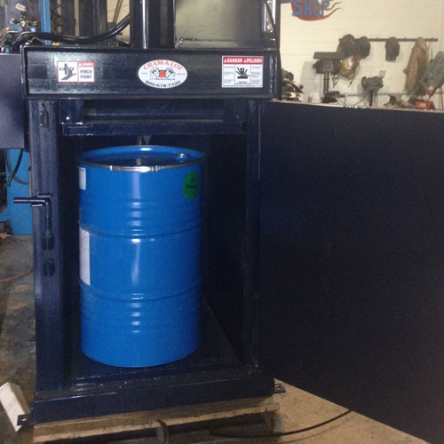 Drum Crusher - Recycling Equipment