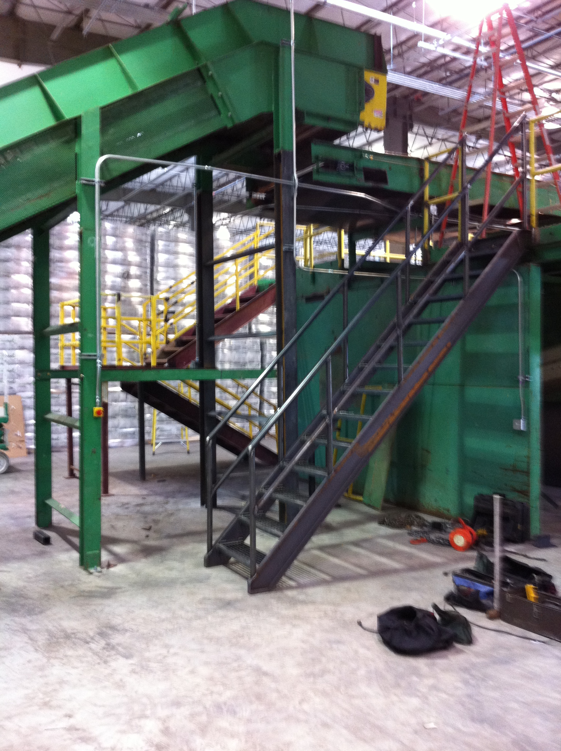 Rebuilt Recycling Sorting System 02