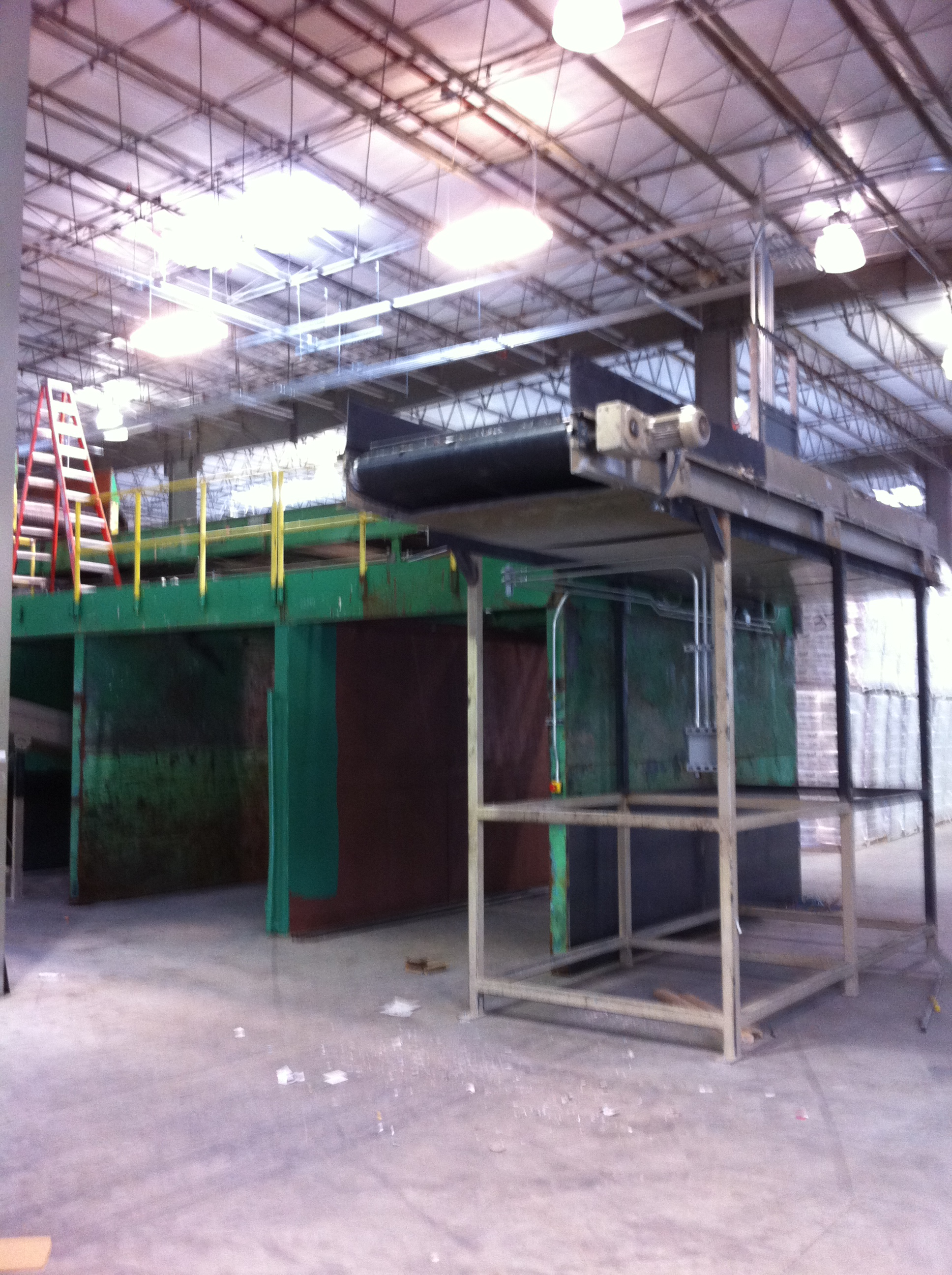 Rebuilt Recycling Sorting System 01