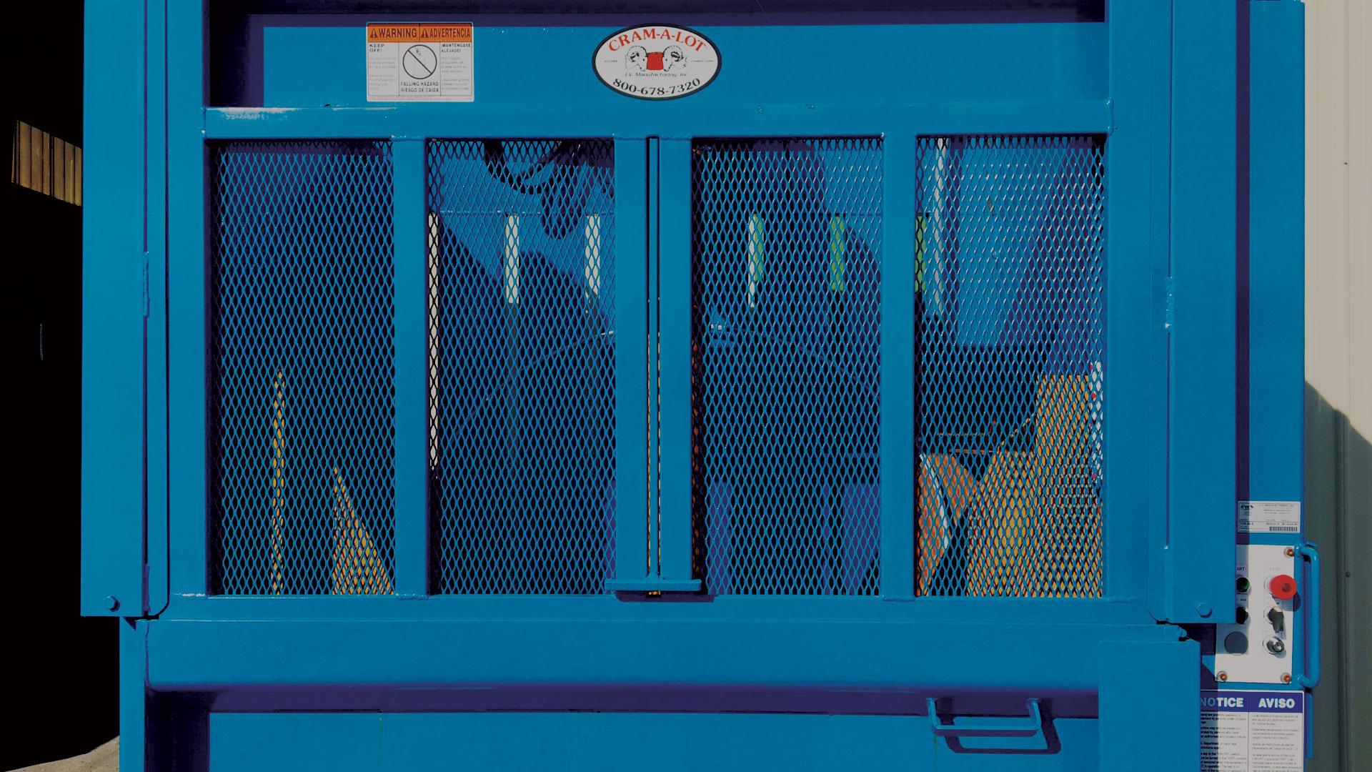 TVB-60 Vertical Baler
