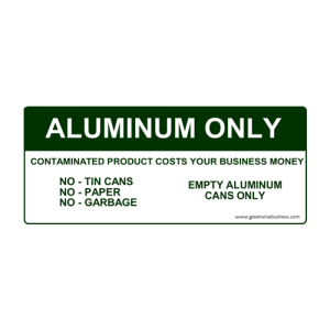Aluminium Only Small